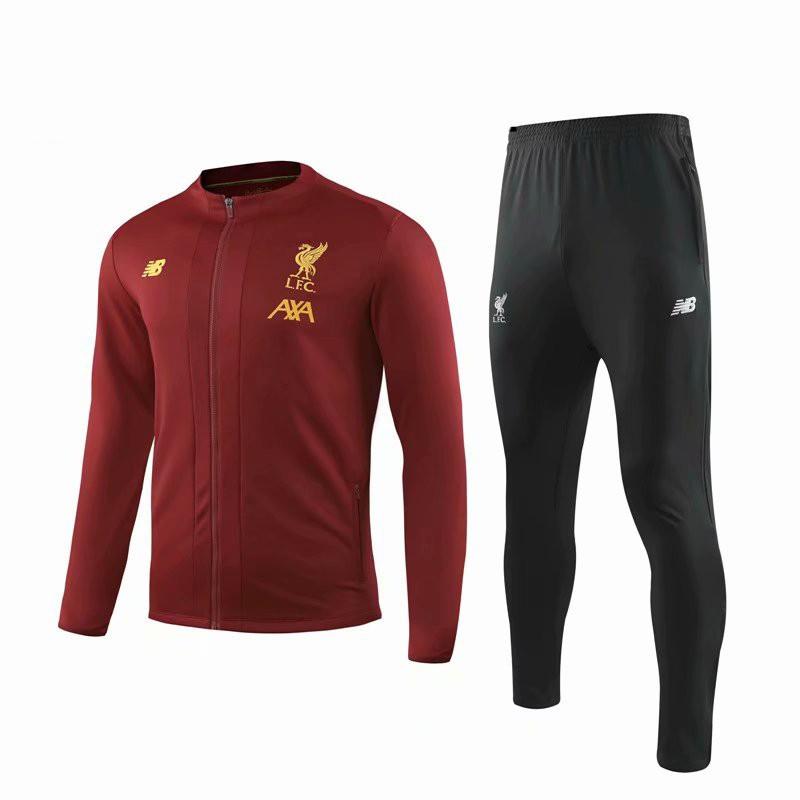 Детский спортивный костюм Ливерпуль красный сезон 2019-2020