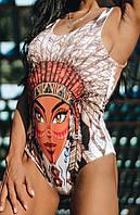 Купальник GoFit Women Купальники GoFit Women XS Купальник Pocahontas С абстрактным принтом 64039222 SKU_39702356-15326021124880