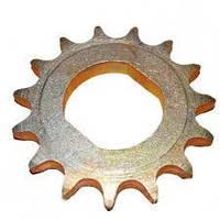 Звездочка Z=15 СУПА 00.4024-02 t=15,875 Приводное колесо замена