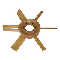 Вентилятор 6 лопастей пластик 245-1308010