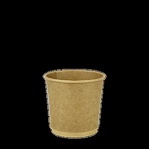 Стакан Двошаровий EcoCraft 110мл, 30шт/рук; 54рук/ящ; 1620шт/ящ