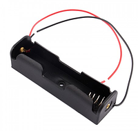 Отсек для 1 аккумулятора 18650 с проводами