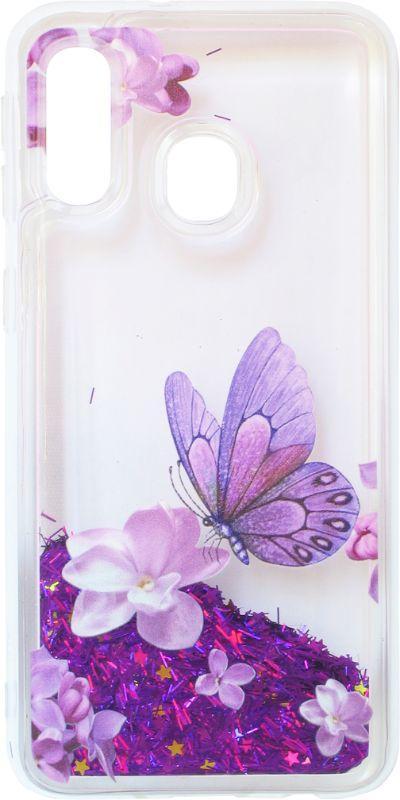 Накладка SA A405 violet baterfly аквариум
