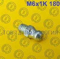 Пресс-масленка по ГОСТ 19853-74, DIN 71412 М6х1К