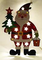 Светящийся Дед Мороз размер 35*25 см