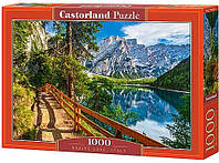 Пазл Castorland Пазлы на 1000 деталей «Озеро Брайес, Италия» CASTORLAND (C-104109) SKU_C-104109