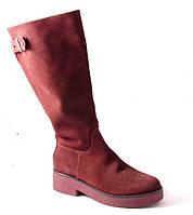 Сапоги женские бордовые Romani 2380130/2 р.36-41