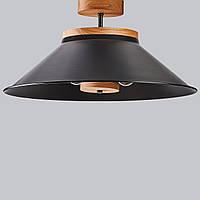 Светильник подвесной в стиле лофт Люстра потолочная черная