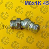 Пресс-масленка по ГОСТ 19853-74, DIN 71412 М8х1К 45, фото 1