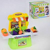 Игровой набор Магазин овощей со светом и звуком R182846
