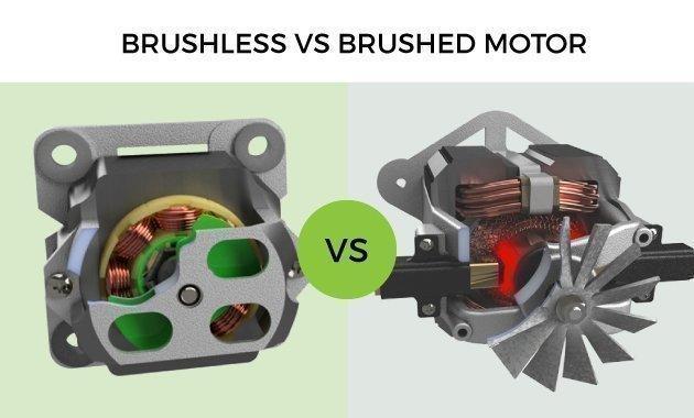 Бесщеточный и щеточный мотор