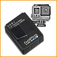 Аккумуляторы для экшн камер
