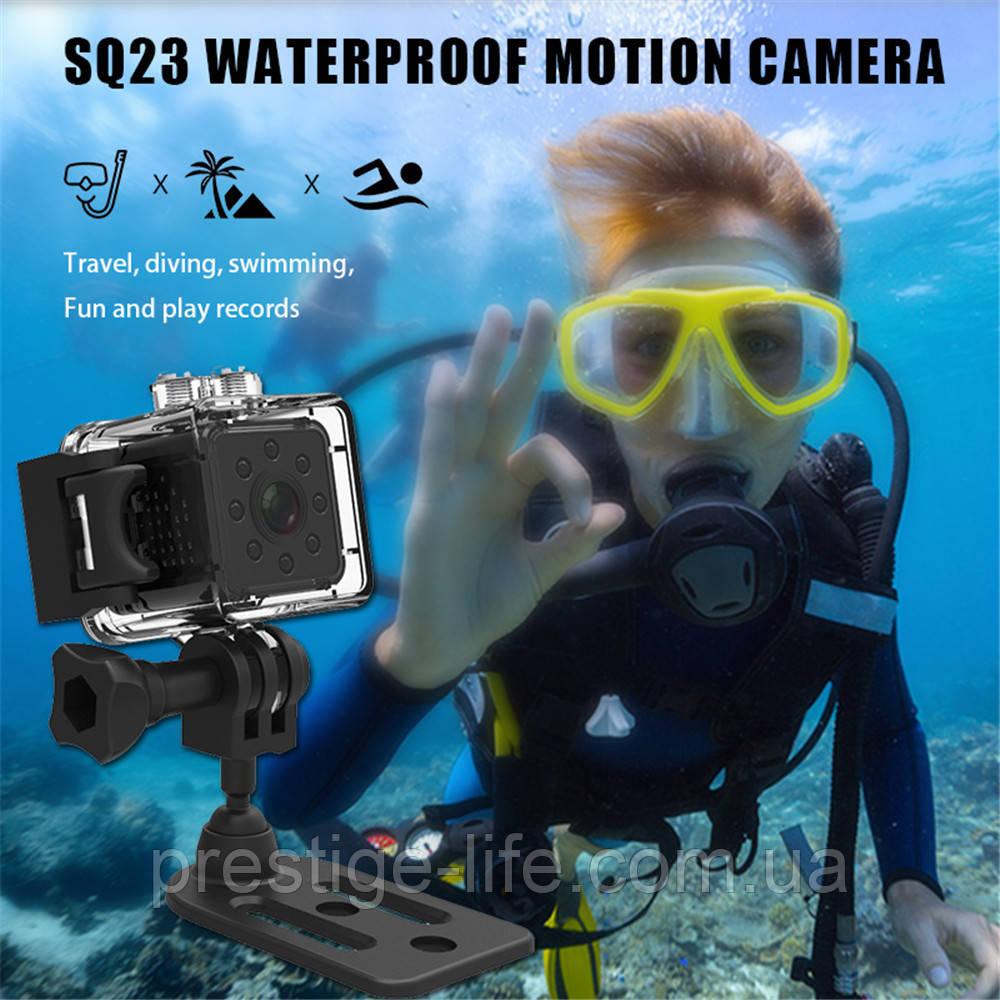 Экшн камера SQ23 Оригинальная мини-камера / камера ночного видения, wifi, водонепроницаемая оболочка.