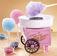 Аппарат для приготовления сахарной ваты  Candy Maker на колёсах