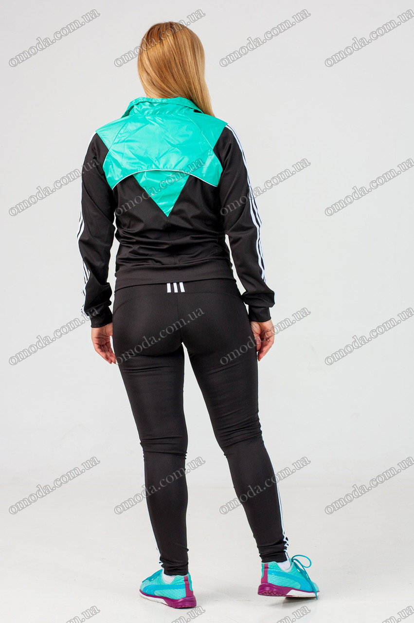 Женский спортивный костюм с лосинами