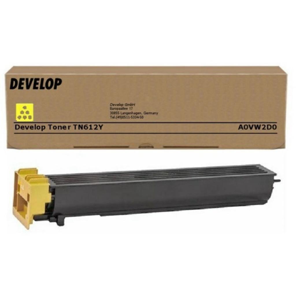 Тонер Develop TN612Y Yellow, для ineo +6501 5501 (A0VW2D0)