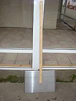 Лопата снегоуборочная алюминиевая большая