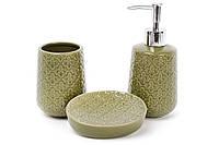 Набор аксессуаров для ванной комнаты 3 пр Bona Di 851-255