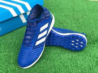 Сороконожки футбольные Predator 18.3 синие