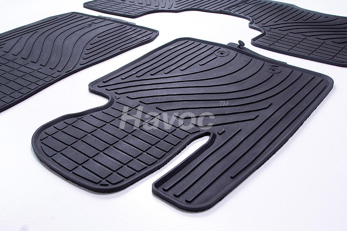 Оригинальные коврики Kia Sorento с 2012 по 2015 HAVOC резиновые в салон полный комплект