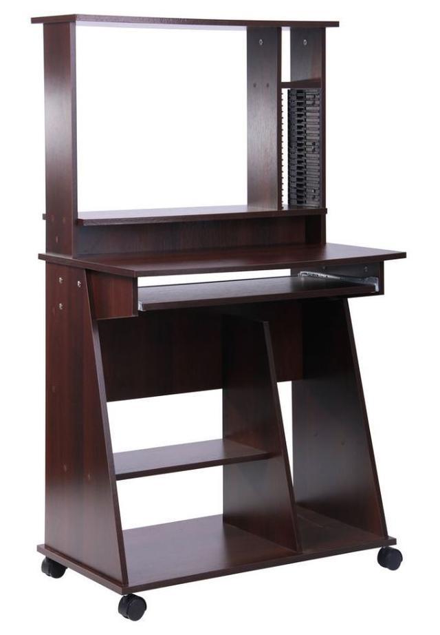 Стол компьютерный СК500 орех темный