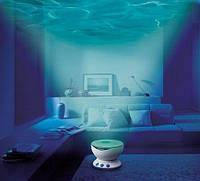 Ночник - проектор Океан Морские волны. Релакс., 14 x 13 см.