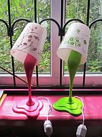 """Лампа """" Разлитая краска """" , 40 см."""