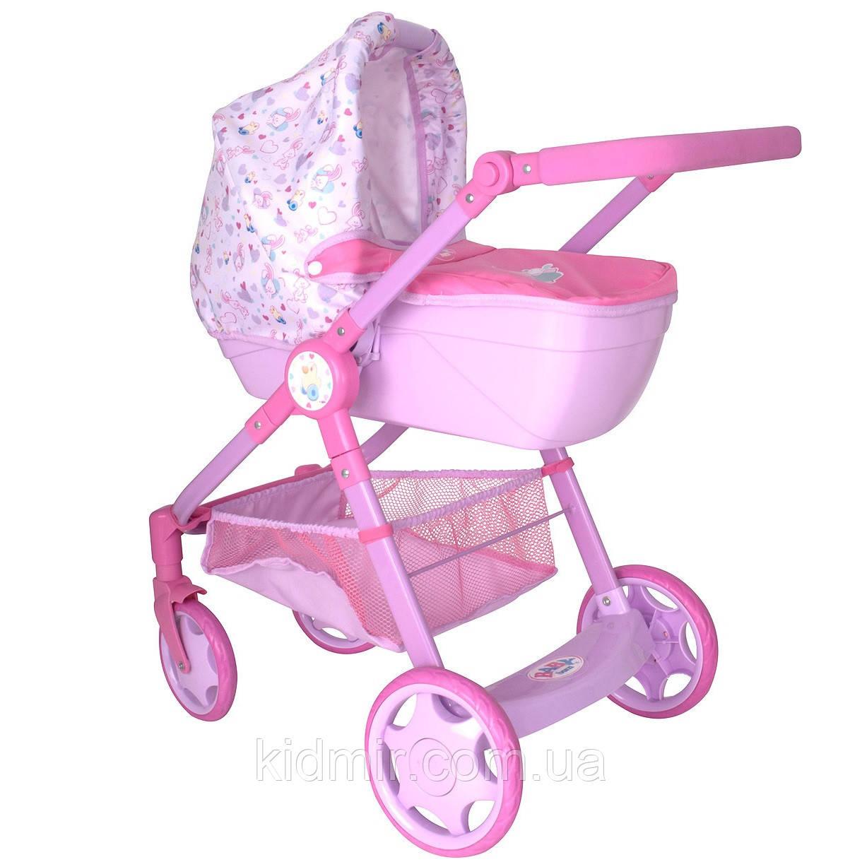 Коляска для кукол Беби Борн Променад Делюкс Baby Born Zapf Creation 1423577