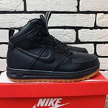 Зимние ботинки (на меху)  мужские Nike AF1 (реплика) 1-031 ⏩ [ 42 ]