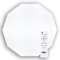 Светильник-люстра с пультом светодиодный BIOM SMART SML-R05-50 3000-6000K 50Вт