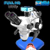 Микроскоп Операционный Стоматологический MJ TECHNO Япония. Плавное увеличение 25X - ССD FULL HD Камера
