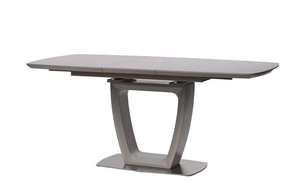 Раскладной стол RAVENNA (Равенна) матовый серый 140/180 от Concepto