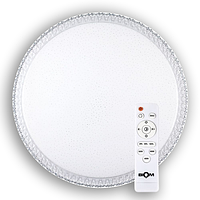 Светильник-люстра светодиодный с пультом BIOM SMART SML-R08-80 3000-6000K 80Вт