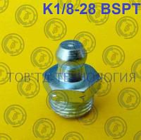 Пресс-масленка по ГОСТ 19853-74, DIN 71412 R1/8-28 BSPT