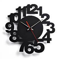 Деревянные настенные часы Moku Nakameguro 38 x 38 см 0104, КОД: 1074651