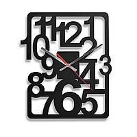 Деревянные настенные часы Moku Design Fukagawa 38 х 38 см 0211, КОД: 1205881