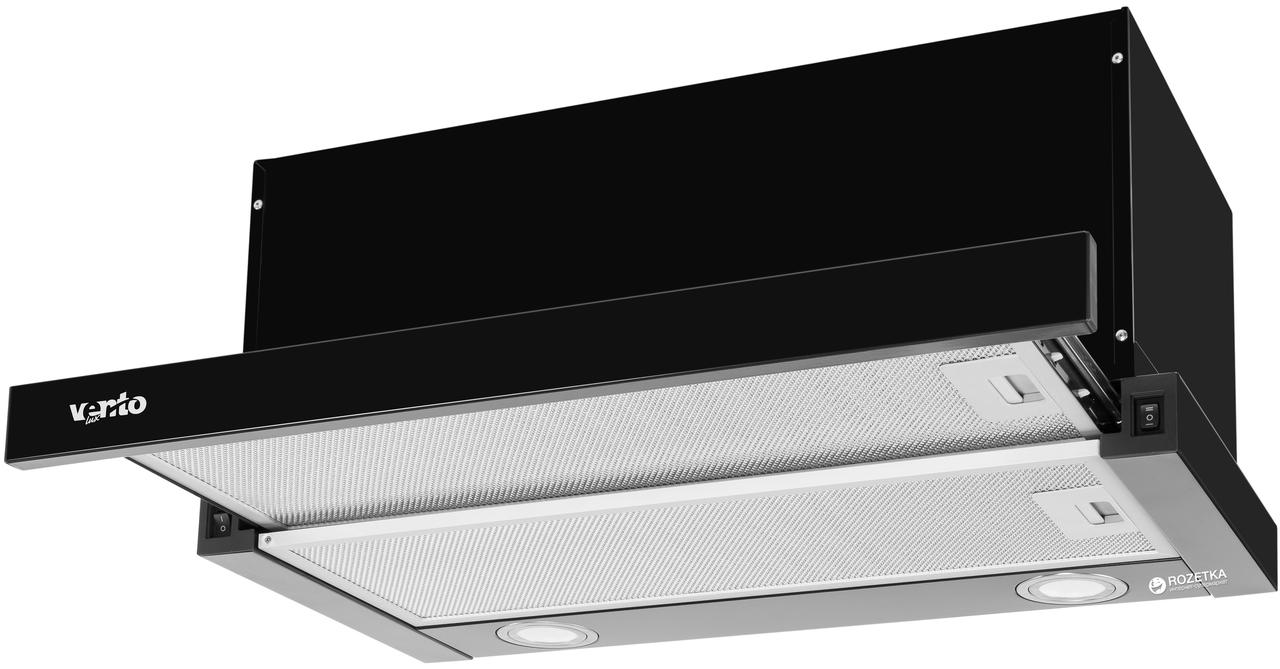 Витяжка Ventolux GARDA 60 BK (1000) LED