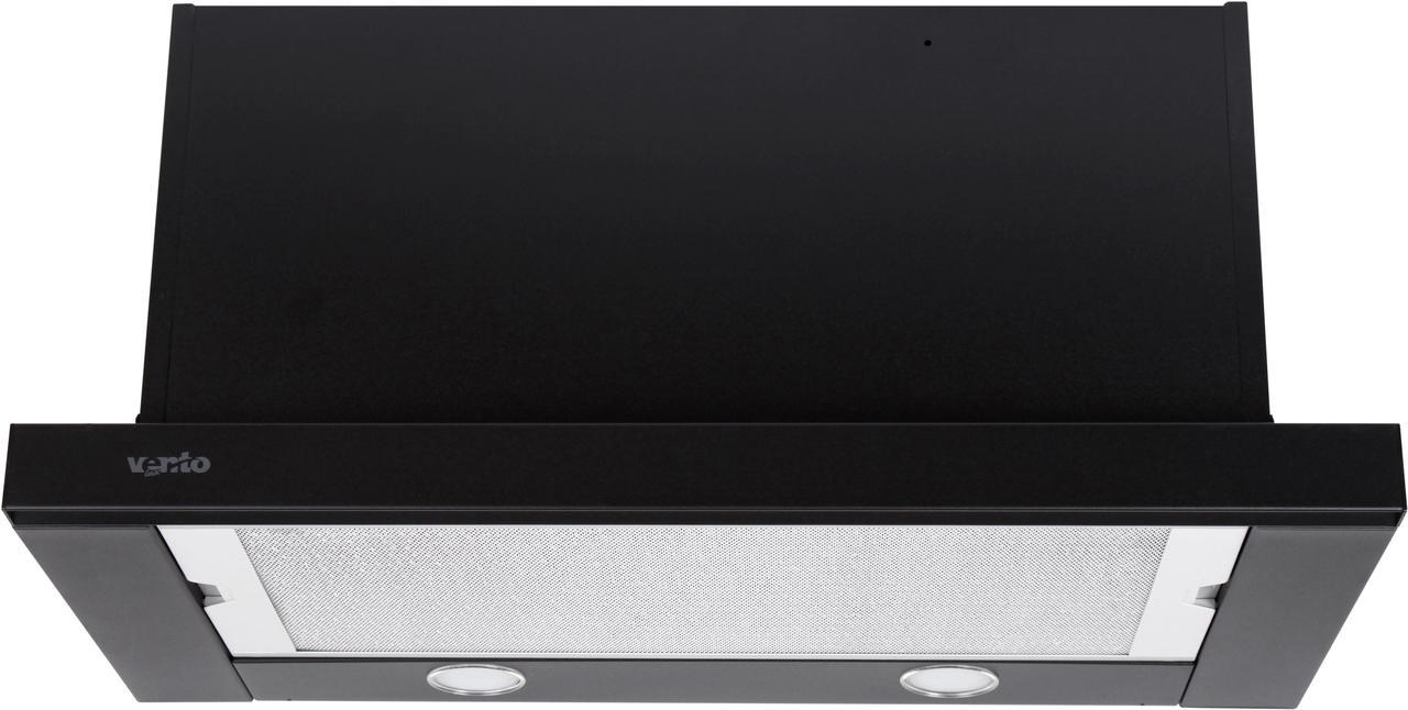 Вытяжка Ventolux GARDA 60 BK (1100) SMD LED