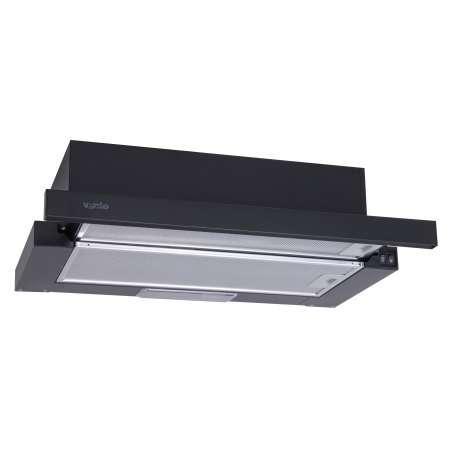 Вытяжка Ventolux GARDA 60 BK (700) SLIM