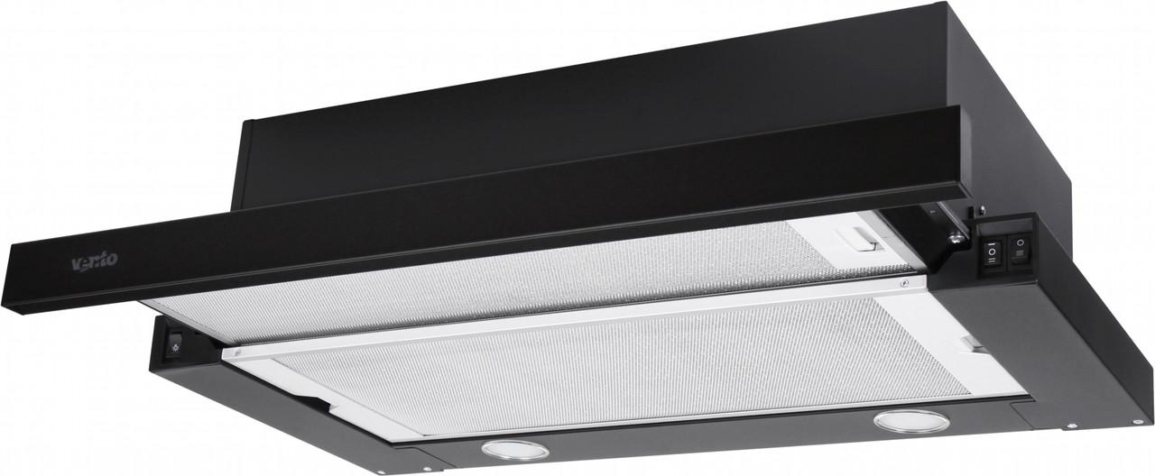 Витяжка Ventolux GARDA 60 BK (800) SMD LED