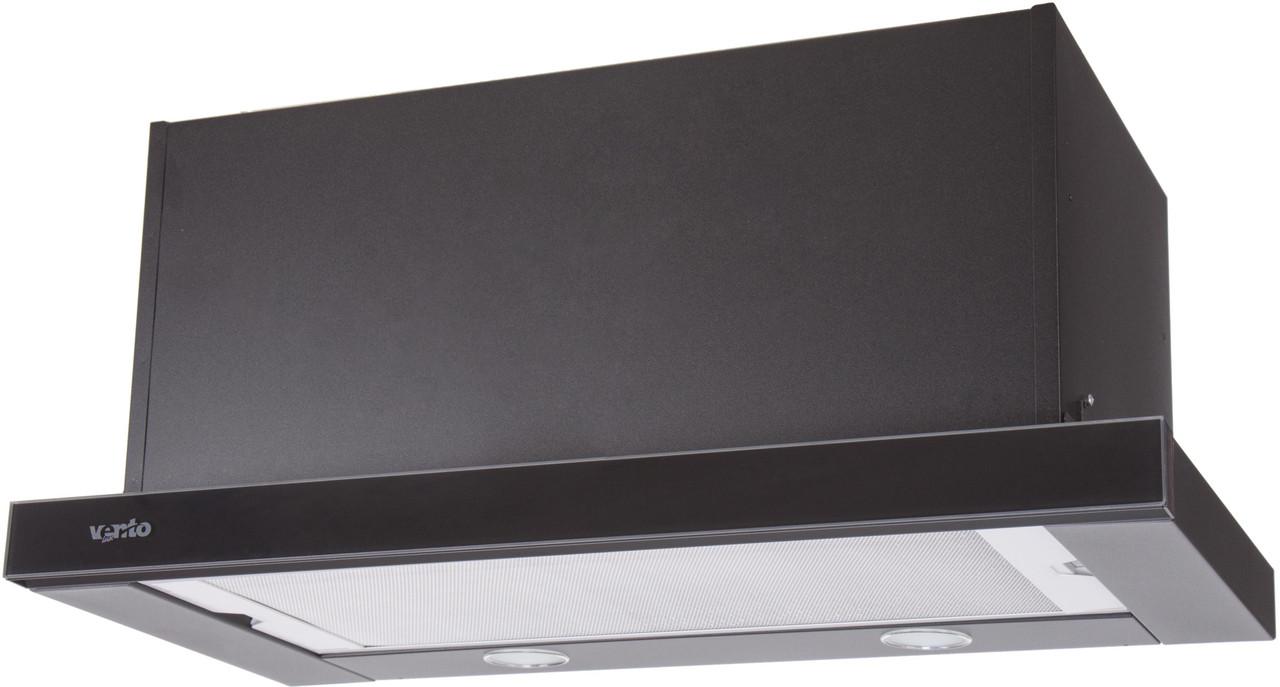Витяжка Ventolux GARDA 60 BK/BG (1100) SMD LED