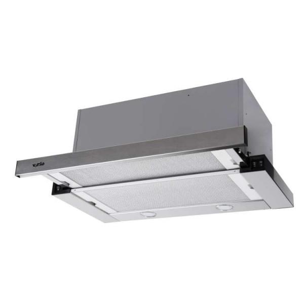 Витяжка Ventolux GARDA 60 INOX (1100) SMD LED