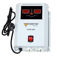 Стабилизатор напряжения FORTE ACDR-2kVA (релейный, настенный)