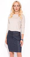 Женская юбка под джинс. Модель Aksell Zaps