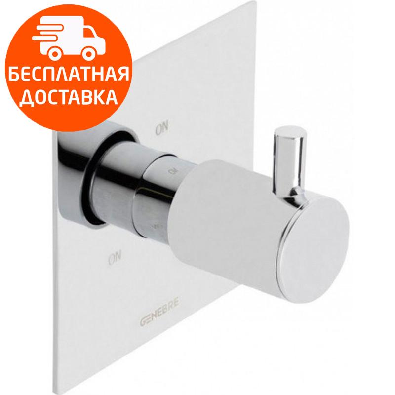 Встраиваемый переключатель на 3 зоны Genebre Tau-switch3 65114 30 45 66 хром