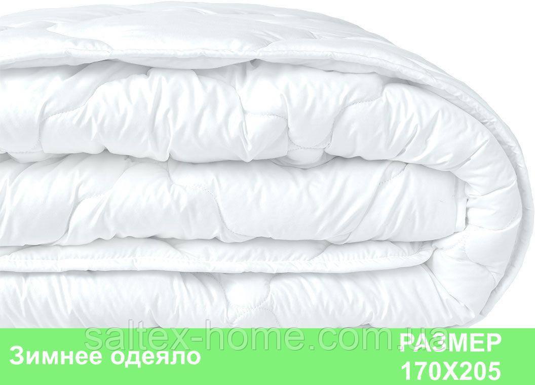 Зимнее одеяло, двуспальное, 170х205 см, чехол микрофибра