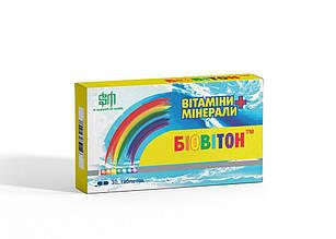 Биовитон вітаміни в таблетках (30 шт)