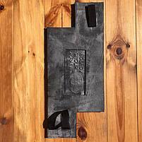 """Полиуретановый форма штамп для бетона """"Доска"""", для пола и дорожек, 57*24 см, фото 5"""