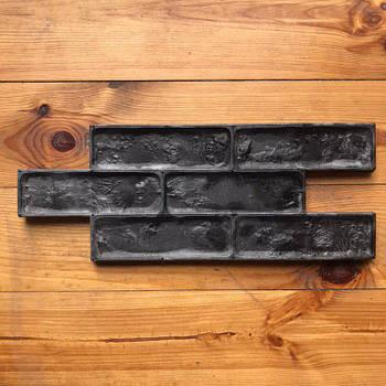 """Поліуретановий штамп-форма для плитки """"Старо-Празький цегла"""" 2 в 1"""