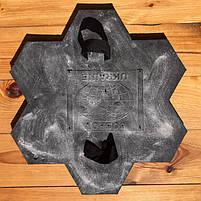 """Резиновый штамп для печатного бетона и штукатурки """"Цветок"""" (форма для печатного бетона), фото 4"""